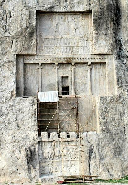 Tomb of Darius at Naqsh-I Rustam